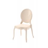 Der Stuhl für Braut und Bräutigam MEDALION creme
