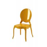 Der Stuhl für Braut und Bräutigam MEDALION golden