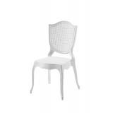 Der Stuhl für Braut und Bräutigam AMOR weiß