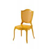 Der Stuhl für Braut und Bräutigam AMOR golden