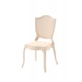 Der Stuhl für Braut und Bräutigam AMOR creme
