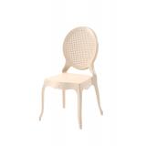 Der Stuhl für Braut und Bräutigam DIANA creme