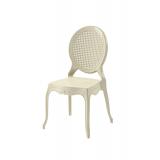 Der Stuhl für Braut und Bräutigam DIANA beige