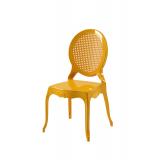 Der Stuhl für Braut und Bräutigam DIANA golden