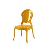 Der Stuhl für Braut und Bräutigam LUNA golden