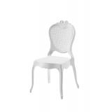 Der Stuhl für Braut und Bräutigam ZEUS weiß