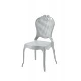 Der Stuhl für Braut und Bräutigam ZEUS silber
