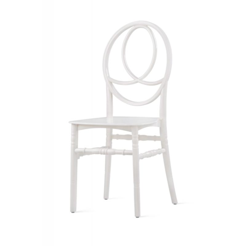 Krzesło cateringowe POLY 7 czarne